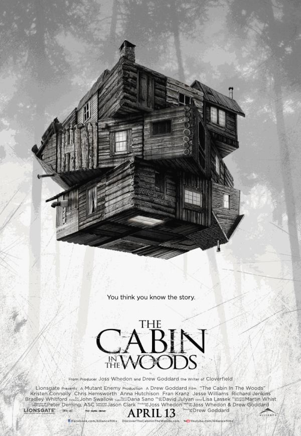 Cabin in the Woods poster resized 600