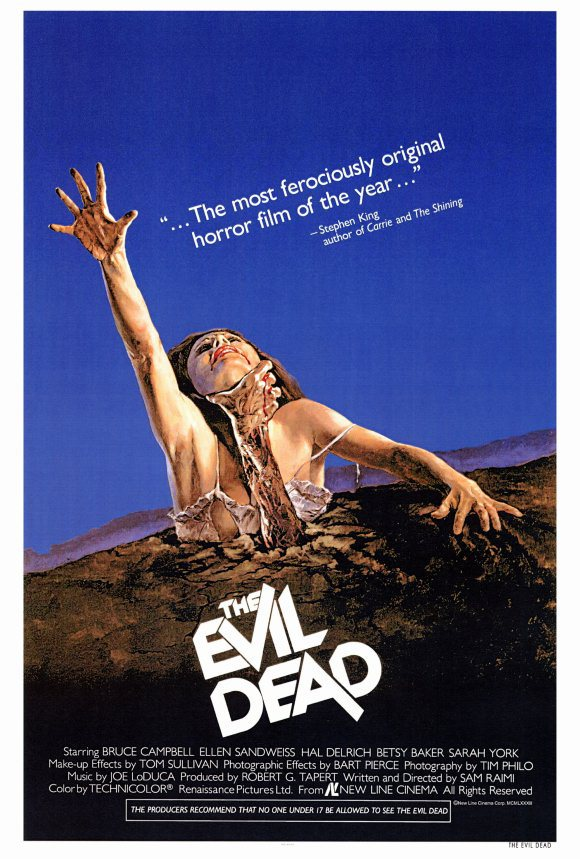 the evil dead original 1981 poster resized 600