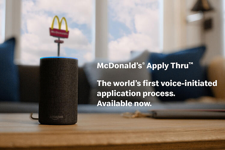 McDonald's Apply Thru Recruitment Campaign