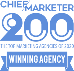 Image of Chief Marketer Top Marketing Agencies in 2020 graphic