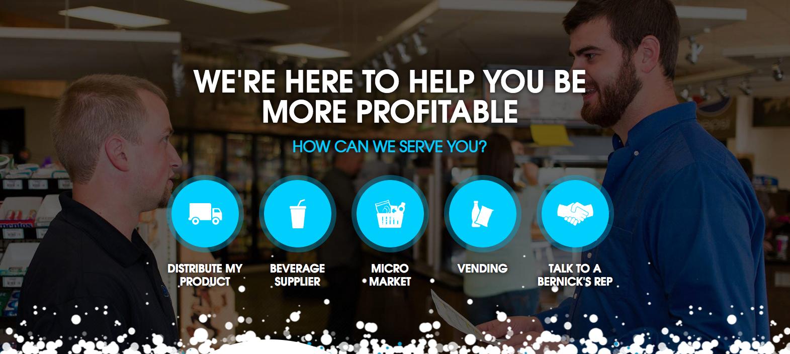 Bernick's Website Homepage