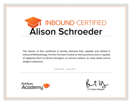 Certification isn\'t a Status Symbol; It\'s a Necessity for Inbound ...