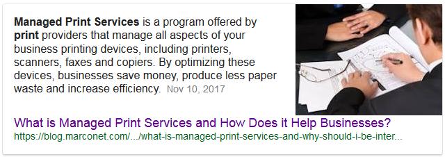 Position Zero Answer Card on Google