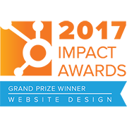 HubSpot 2017 Impact Awards Grand Prize Winner Website Design