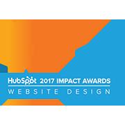 HubSpot 2017 Impact Awards Website Design