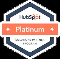 HubSpot Platinum Solutions Partner Program Badge