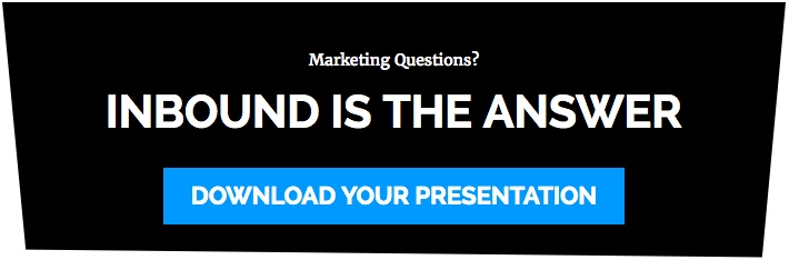 Marketing questions? Inbound is the answer.