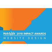 HubSpot 2018 Impact Awards Website Design